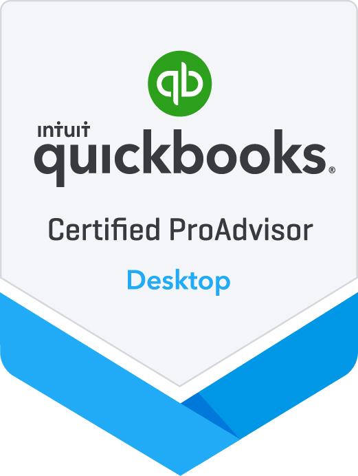 Certified QuickBooks®  Proadvisor Desktop in Lake City, FL and Gainesville, FL