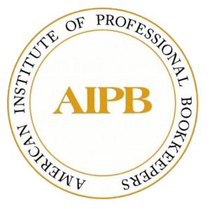 AIPB Certified Bookkeeper Logo, Lake City, FL and Gainesville, FL