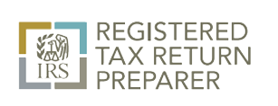 IRS Registered Tax Preparer logo, Lake City, FL and Gainesville, FL