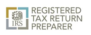 IRS Registered Tax Preparer logo, Lake City, FL and Gainesville, FL