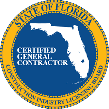 Florida Certified General Contractor Logo, Lake City, FL and Gainesville, FL