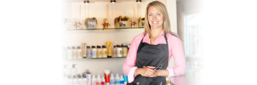 Woman working in hairdressing salon, QuickBooks® Consulting in Lake City, FL and Gainesville, FL